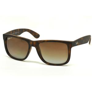 aa062d1f61 Ray-Ban RB 4165 JUSTIN POLARIZZATO Col.865/T5 Cal.55 New Occhiali da  Sole-Sunglasses