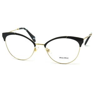 huge selection of 24e20 9467a Miu Miu VMU 50P Col.1AB-1O1 Cal.54 New Occhiali da Vista-Eyeglasses