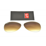 LENTI LENS DI RICAMBIO RAY-BAN 3362 Cal 56 MARRONE SFUMATO / BROWN SHADED