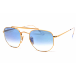 Ray-Ban RB 3648 THE MARSHAL Col.001/3F Cal.51 New Occhiali da Sole-Sunglasses