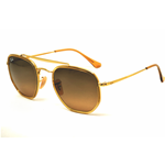 Ray-Ban RB 3648 M THE MARSHAL II Col.9124/43 Cal.52 New Occhiali da Sole-Sunglasses