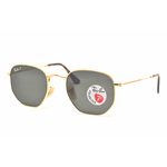 Ray-Ban RB 3548 N HEXAGONAL Col.001/58 Cal.51 New Occhiali da Sole-Sunglasses