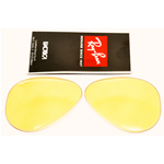 Lenti ricambio Ray ban 3407-3138 AVIATOR Cal 58 ambermatic evolve Replacement lens